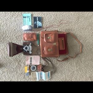 German Contaflex 1 Camera/Lens/Case/ETC
